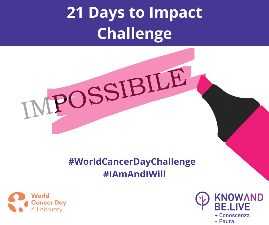 21 Days to impact Challenge - Knowandbe.live